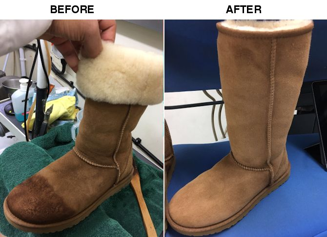 d6b648270d4 Suede and Leather